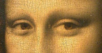 Musee Hyacinthe Rigaud mona lisa detail eyes