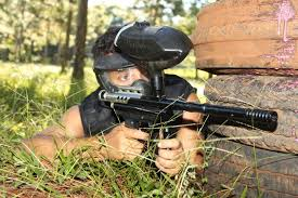 tir arc paintball proche de Cozes