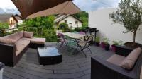 Location de vacances Aix les Bains charmant appartement terrasse exposée plein sud
