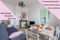 Appart Hotel Argenteuil Le charme haussmannien-10 min Paris