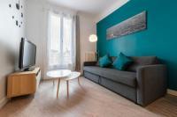 Résidence de Vacances Aubervilliers appartement rénové par un architecte