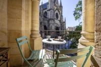 Résidence de Vacances Bordeaux Centre historique, appartement climatisé avec terrasse
