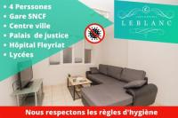 Appart Hotel Tossiat T2 4 Pers, BUS , Lycee, Centre Ville, Restaurant, Supermarché