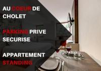 Appart Hotel La Gaubretière Appartement Centre Cholet