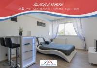 Résidence de Vacances Dijon SweetHome Dijon - Black  White