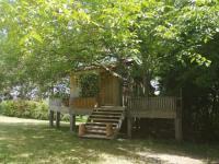 Appartement Saint Martin du Bois Cabane en bois climatisée