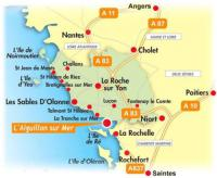 Résidence de Vacances La Faute sur Mer Les Prises (Rez de Chaussée)