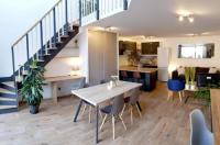 Appartement Bernos Beaulac Loft renovation with a private garden