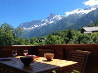Résidence de Vacances Les Houches Kandahar mountain view