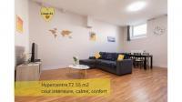 Appartement Bâgé la Ville Le Mac'Honey Lounge, T2, 55 m2, HYPERCENTRE MACON au calme