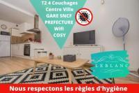 Appart Hotel Bâgé la Ville T2 4 Personnes , BUS , Lycée,Conservatoire, Centre Ville, Restaurant