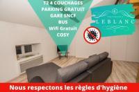 Appart Hotel Bâgé la Ville T2 Cozy, 4 Couchages, Centre ville de Macon '
