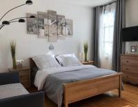 Appart Hotel Chaumont en Vexin JOLI STUDIO INDÉPENDANT AVEC JARDIN