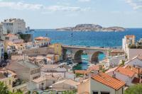 Résidence de Vacances Marseille 7e Arrondissement T2 SUPERBE VUE MER et Vallon Des Auffes