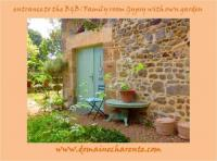 Appartement Ambernac Domaine Charente - Familyroom Gypsy with garden (with external toilet  shower house)