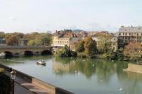 Appart Hotel Metz Au fil de l'eau, F2 avec vue magnifique