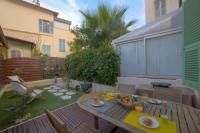 Appart Hotel Nice Cadre Zen - Terrasse