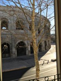 Résidence de Vacances Nîmes Face à face unique avec les arènes