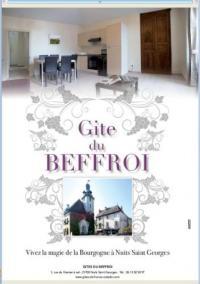 gite Ruffey lès Beaune Gites du Beffroi