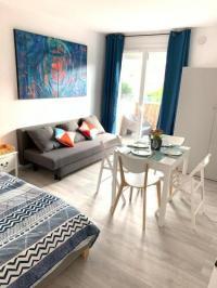 Résidence de Vacances Perpignan Charmant studio avec climatisation et parking