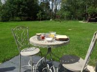 Appartement Bernos Beaulac L'Escale Bâbord petit-déjeuner inclus avec vue sur parc arboré, calme absolu