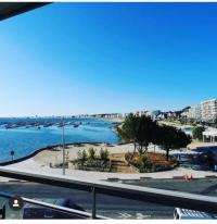 Appartement Pornichet studio Galliéni vue panoramique face mer