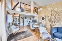 Appartement Abzac Elégant appartement tout confort avec climatisation dans le centre historique de ST Emilion