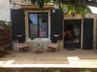 Appartement Ordonnac studio de charme au coeur du medoc