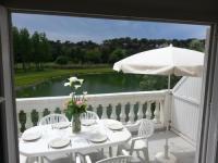 Location de vacances Talmont Saint Hilaire Port Bourgenay Ile au Pré vue lac et golf