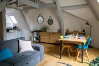 Appart Hotel Franche Comté CHRYSALIDE, superbe appartement duplex sur le Port de Vannes