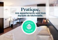 Appart Hotel Pays de la Loire Golden Tulip Nantes Carquefou Suite