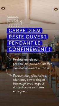 Chambre d'Hôtes Nantes La Rivière House - Péniche Carpe Diem