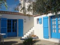 Chambre d'Hôtes Noirmoutier en l'Île Le Buzet Bleu Bed  Breakfast