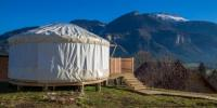 Terrain de Camping Grenoble La Yourte Etoile