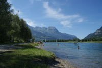 Baignade Haute Savoie Lieu de baignade PASSY  ILES