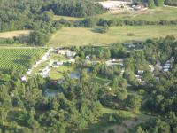 Terrain de Camping Guîtres Camping La Motte