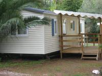 Terrain de Camping Saint Jean Lasseille Location en Mobil home au Camping La Massane