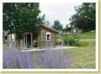 Camping Le Pouchou-chalet-edelweiss