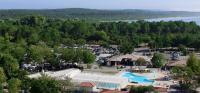 Terrain de Camping Castets Location en Mobil home au Camping L'Airial