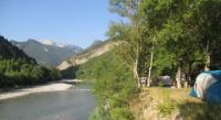 Terrain de Camping Rhône Alpes Les Acacias