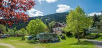 Terrain de Camping Gerbamont Location en Mobil home au Camping Du Haut Des Bluches
