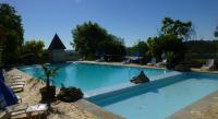 Terrain de Camping Castels Camping Bleu Soleil