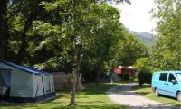 Terrain de Camping Midi Pyrénées Camping La Bourie