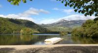Terrain de Camping Saint Floret Domaine Du Lac Chambon