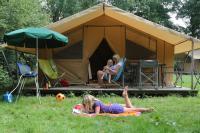 Terrain de Camping Sandrans Camping le nid du parc
