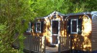 Terrain de Camping Saint Jean de Maruéjols et Avéjan Sas Location en Mobil home au Camping Les Cascades