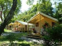 Terrain de Camping Vinzier Camping du Leman Saint Disdille