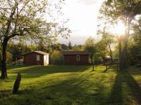 Terrain de Camping Saint Haon le Châtel Camping Auberge les Myrtilles