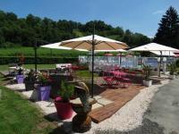 Terrain de Camping Midi Pyrénées Location en Mobil home au Camping A l'Ombre des Tilleuls