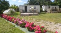 Terrain de Camping Plouvorn Les Mobile home de KERROYAL